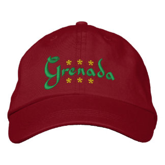 Grenada Embroidered Hat