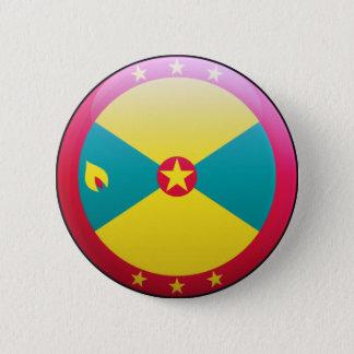 Grenada Flag 2 Inch Round Button