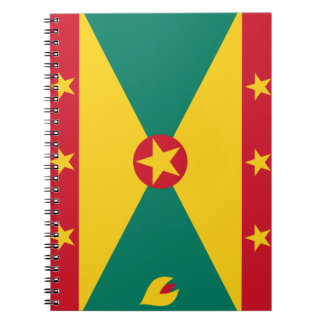 Grenada Flag Notebook