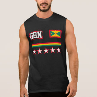 Grenada Flag Sleeveless Shirt