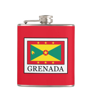 Grenada Hip Flask
