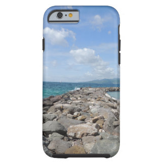 Grenada jetties and ocean 2 iPhone case