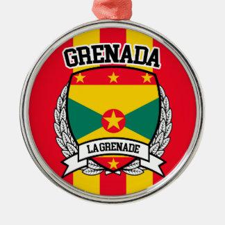 Grenada Metal Ornament