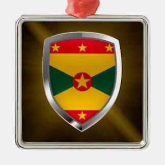 Grenada Mettalic Emblem Metal Ornament