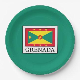 Grenada Paper Plate