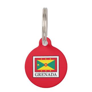 Grenada Pet Name Tag