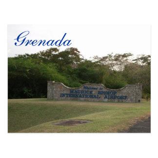 Grenada Postcard-Maurice Bishop International Airp Postcard