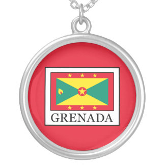 Grenada Silver Plated Necklace