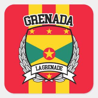 Grenada Square Sticker
