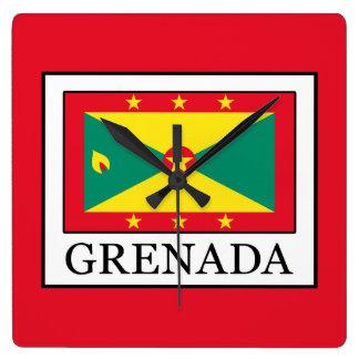 Grenada Square Wall Clock