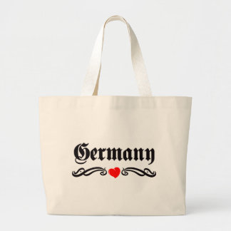 Grenada Tattoo Style Large Tote Bag