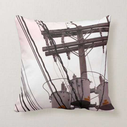 Grenada - Telegraph Wires Throw Pillow