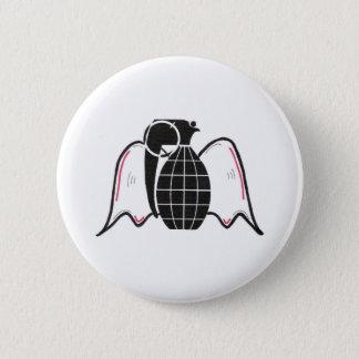 """""""Grenade Angel"""" 2 Inch Round Button"""