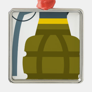 Grenade Metal Ornament