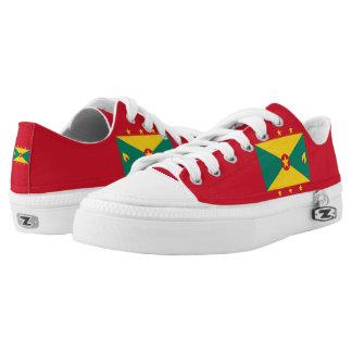 Grenadian Flag Low-Top Sneakers
