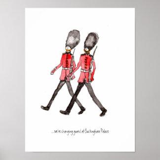 Grenadier Guard poster