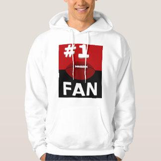 Grenat I de passioné du football #1 et sweatshirt