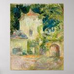 Grenier de pigeon au château du Mesnil, Juziers Poster