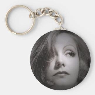 Greta Garbo Key Chain