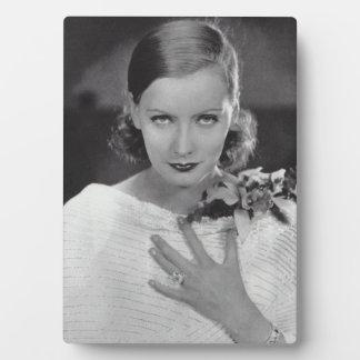 Greta Garbo Tabletop Plaque