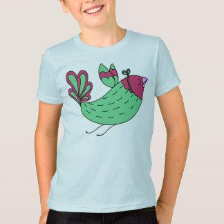 Greta Green Bird T-Shirt