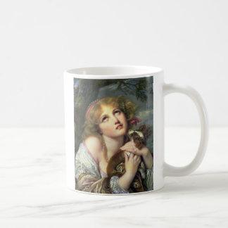 Greuze Papillon/Phalene Fidelity Coffee Mug