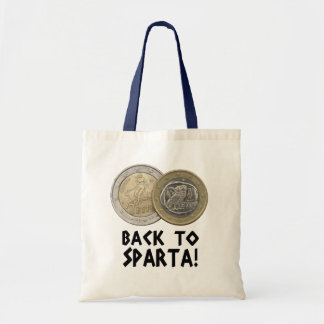Grexit: back to Sparta! Budget Tote Bag
