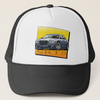 Grey_300_SRT8 Trucker Hat