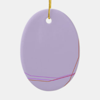 grey 8297 abstract art ceramic oval ornament