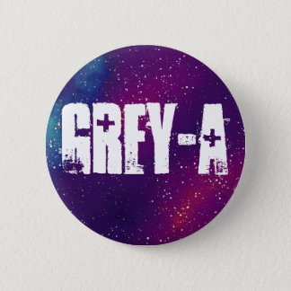 Grey-A Customizable Galaxy Identity 2 Inch Round Button