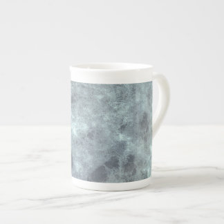 Grey abstract grunge digital graphic art design tea cup