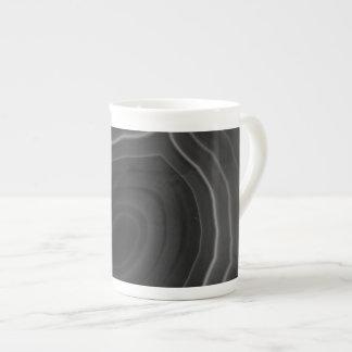 Grey agate slice original design mug