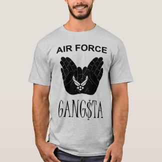 Grey Air Force Gangsta T-Shirt