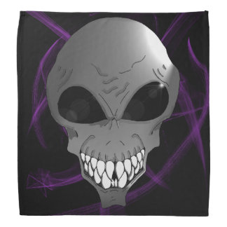 Grey alien Bandana