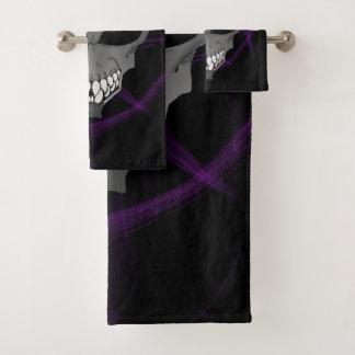 Grey alien Bathroom Towel Set or individual