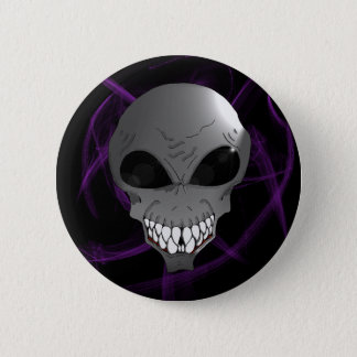 Grey alien button