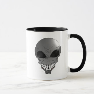 Grey Alien coffee Mug