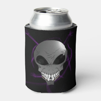 Grey alien Custom Can Cooler