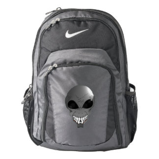 Grey alien Custom Nike Performance Backpack