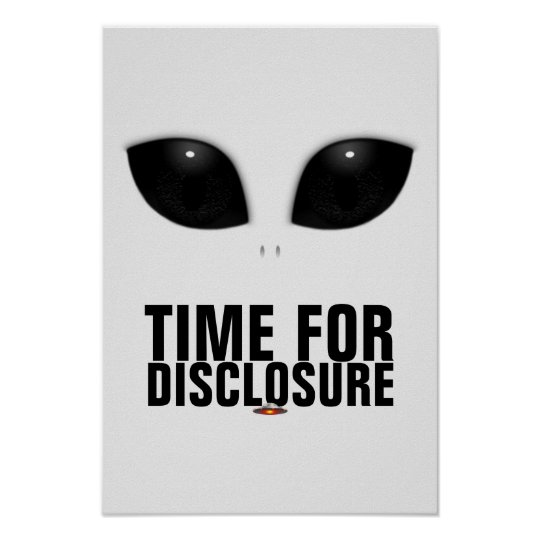 Grey-Alien Eyes Disclosure poster