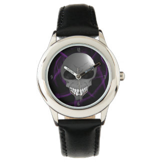 Grey alien Kids wrist watch