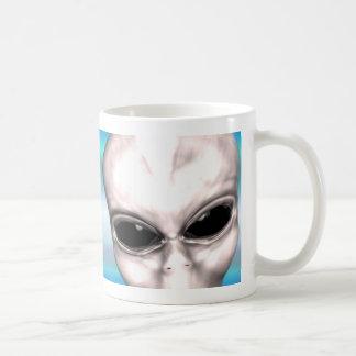 Grey Alien Study Mug