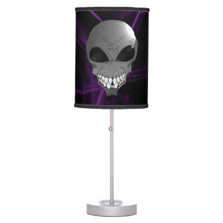 Grey alien Table Lamp