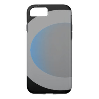 Grey and Black Fashion Colorblock iPhone Case