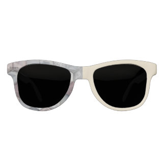Grey and Cream Custom Spectacles Sunglasses