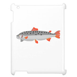 Grey And Orange Fish Case For The iPad 2 3 4