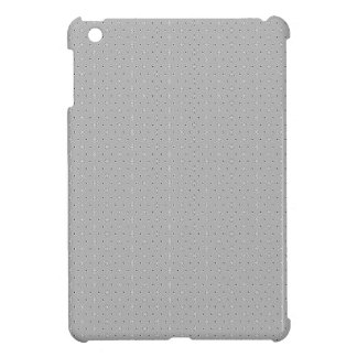 Grey and White Pattern Snowflake Flower print iPad Mini Cover