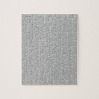 Grey and White Pattern Snowflake Flower print Jigsaw Puzzle