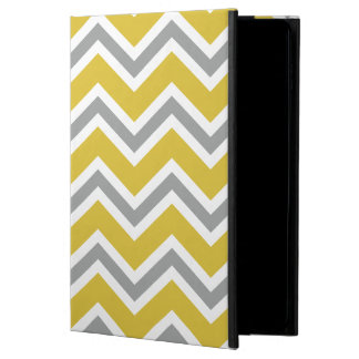 Grey and Yellow Chevron iPad Air 2 Case