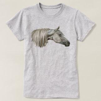Grey Arabian Horse Equine T-Shirt
